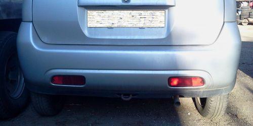Suzuki Ignis Japán / Sport - Hátsó lökhárító Ezüst színű. A lámpákat és egyéb alkatrészeket nem tartalmazza! 30000Ft
