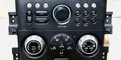 2005-2014 Suzuki Grand Vitara - Rádió + Klímaszabályzó egység /Gyári/ A termékek külön is elérhetőek: Rádió: 29990 Ft Klímaszabályzó egység: 29990 Ft Eredeti Suzuki alkatrész: 39510-64J0 39510-65J90-CZJ CJB502A001AH 49990Ft
